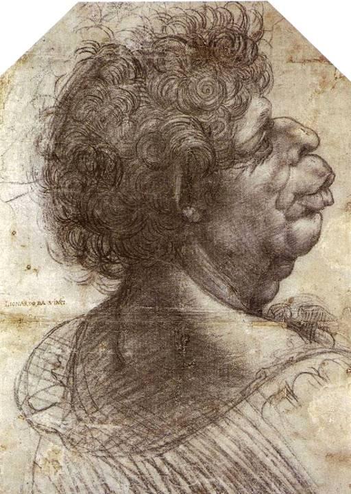 Рисунок головы мужчины