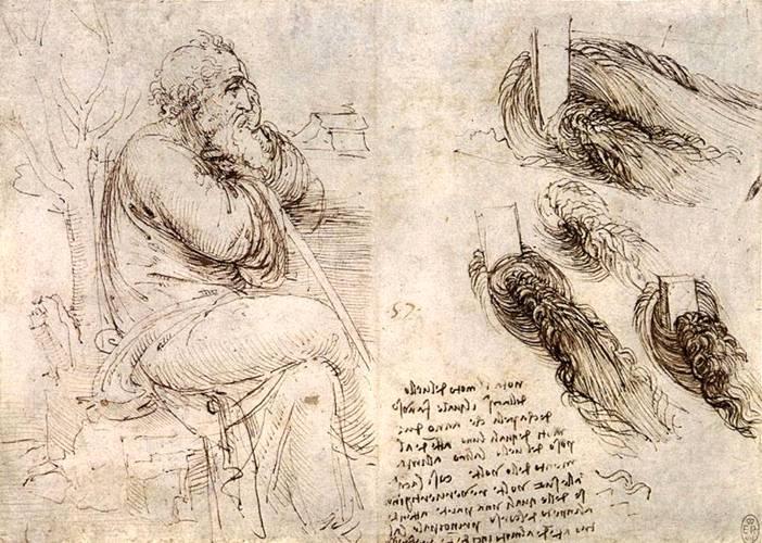 рисунок Да Винчи