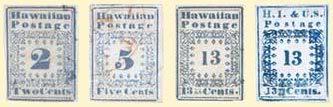 гавайские марки