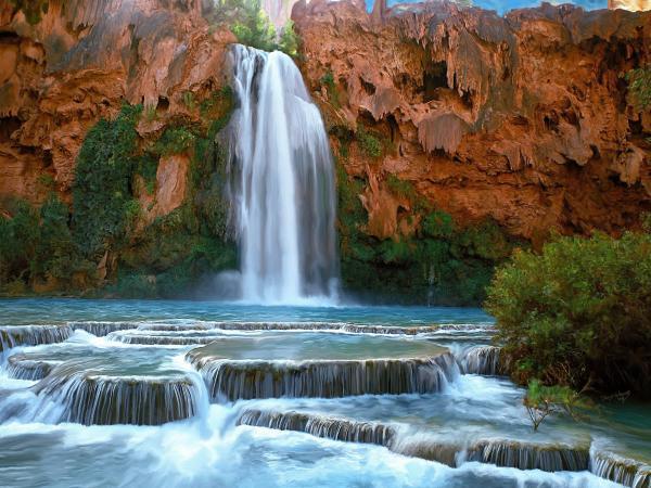 Хавасу водопад