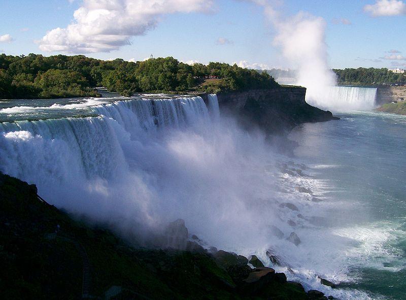 Ниагарский водопад является самым