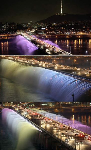 мост фонтанов