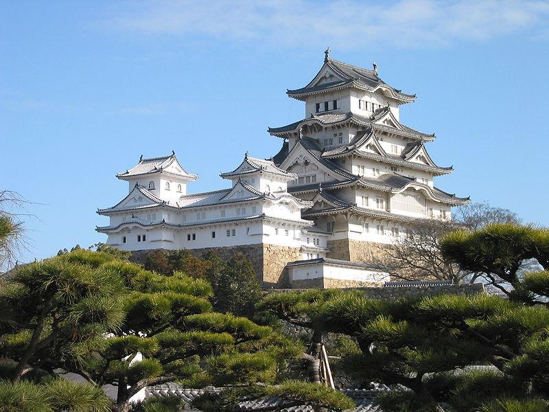 Замок Himeji