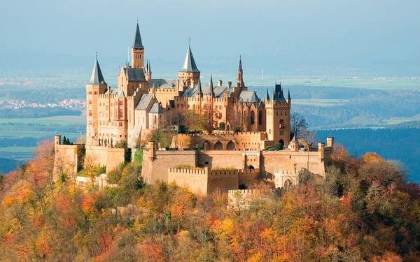 Замок Hohenzollern
