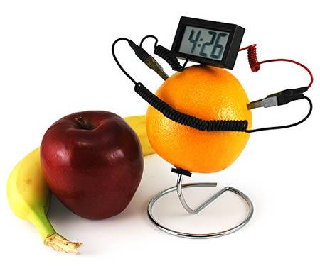 Часы – фруктовая энергия