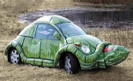 Самый необычный тюнинг машин