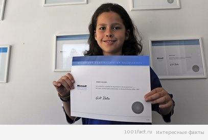 FYROM MARCO CALASAN YOUNGEST IT ADMINISTRATOR IN THE WORLD