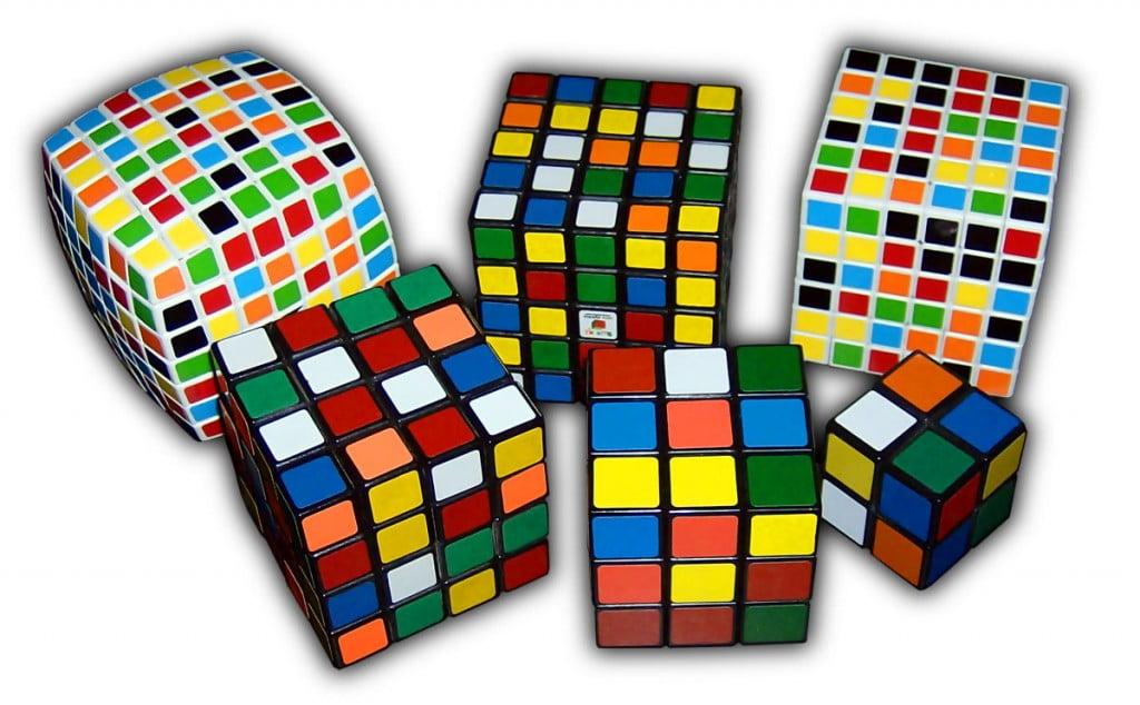 варианты кубика Рубика