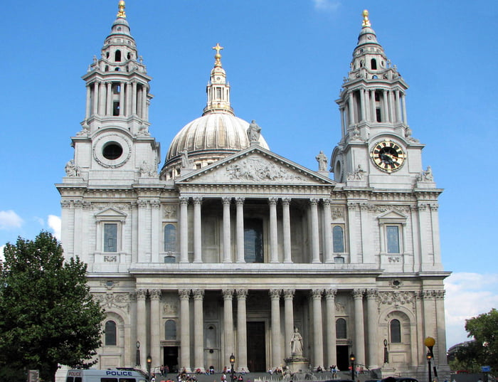 Собор святого Павла фасад