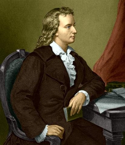 Немецкий поэт и философ фридрих фон