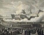 открытие памятника Петру I в 1782 году