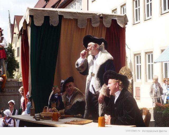 суд в Средние века