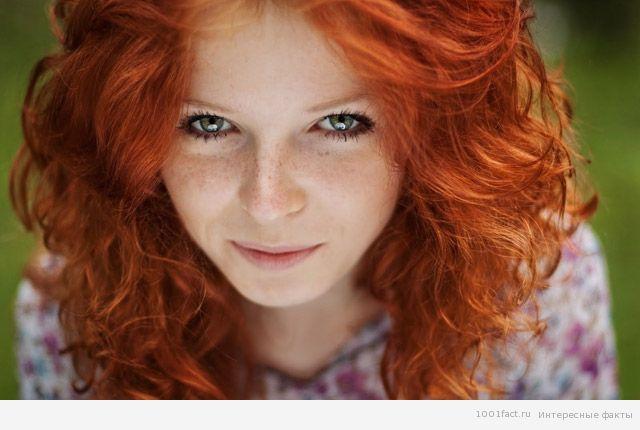 о рыжих волосах