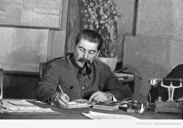 немного фактов из жизни Сталина