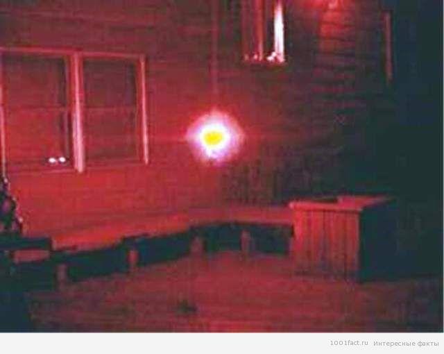шаровая молния в доме