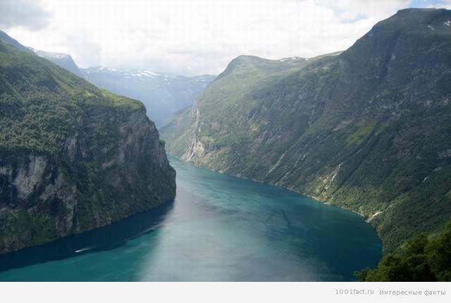 факты о норвежских фьордах