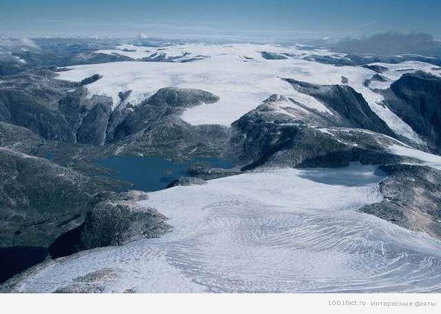 Юстедальсбреен ледник