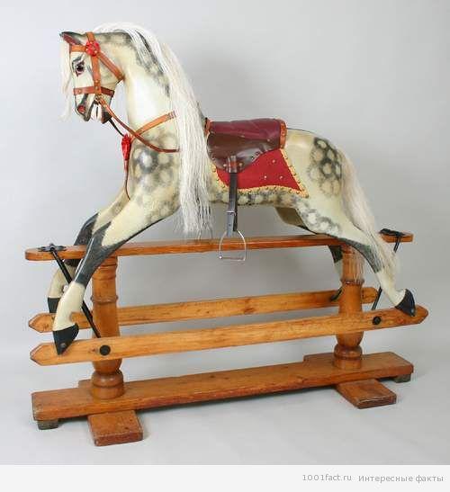 о лошадке качалке