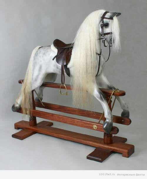 факты о лошади качалки