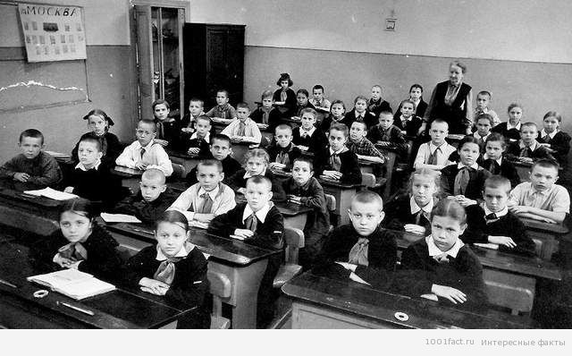 50-е года_школьная форма