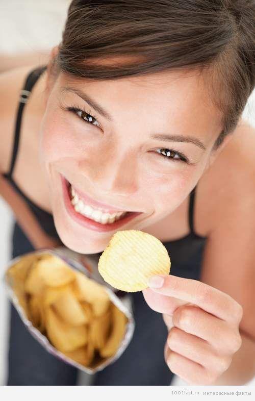 популярность чипсов
