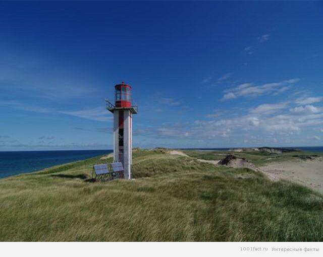маяк на острове Сейбл