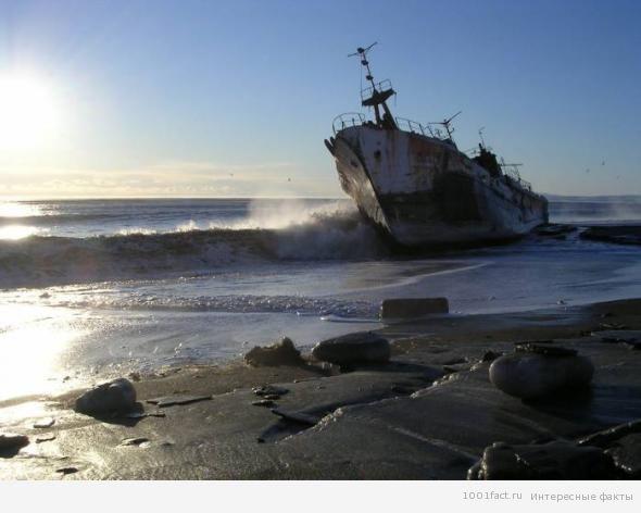 Сейбл_разбившейся корабль