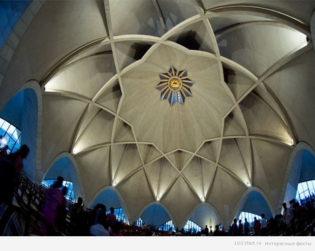 храм лотоса_купол