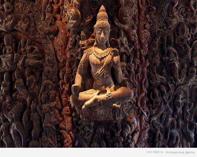 скульптура храма