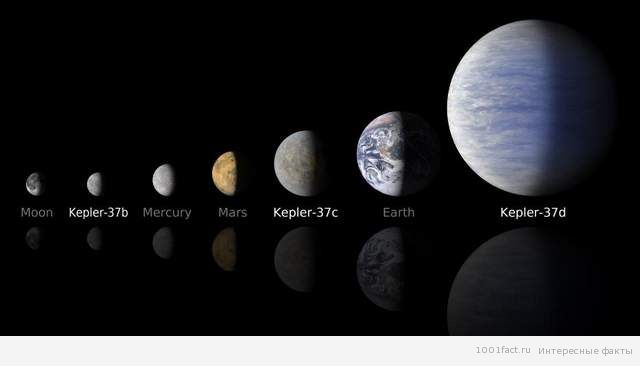 планеты системы Kepler-37