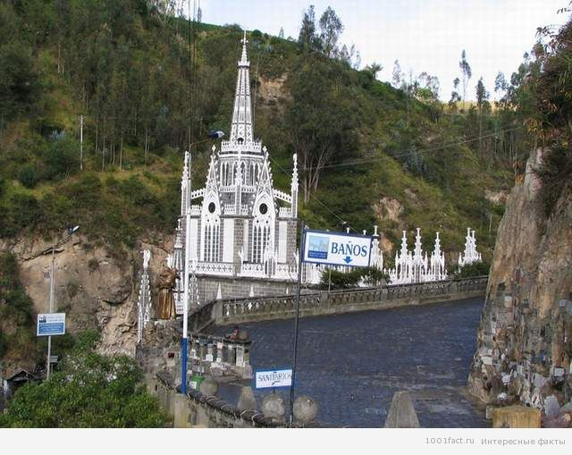 Лас-Лахас_собор в Колумбии