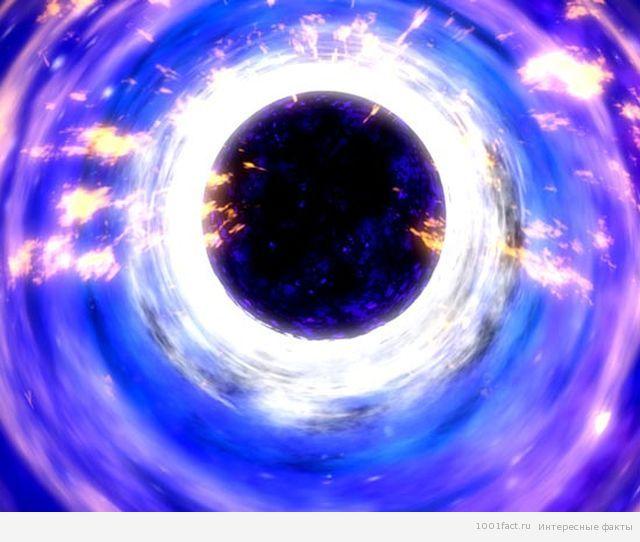 космос_черная дыра