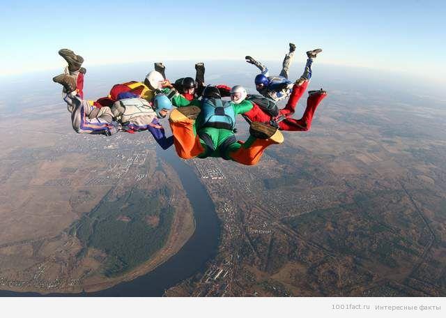 факты о парашютном спорте