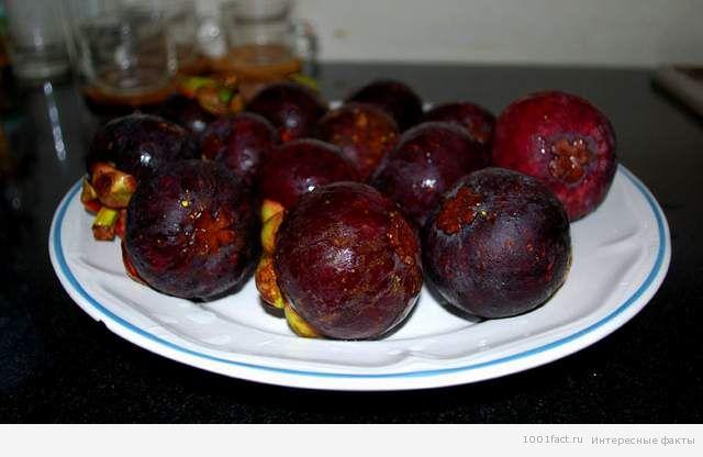 фрукты_мангустины