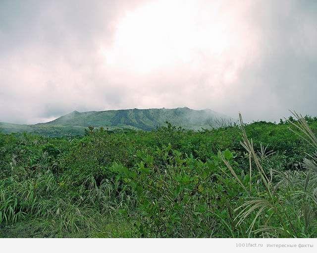о вулкане Михара