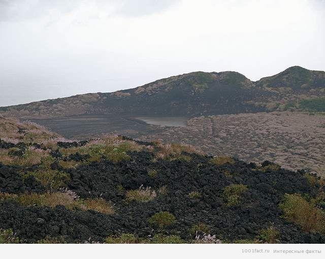немного фактов о вулкане Михара