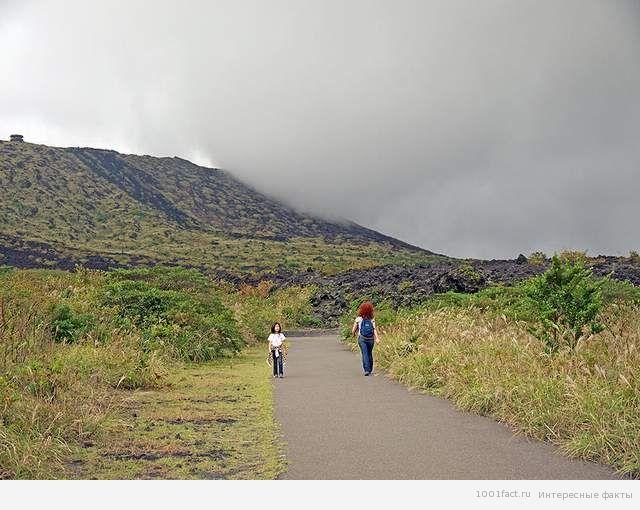 Япония_вулкан Михара