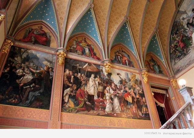 убранство замка Драхенбург