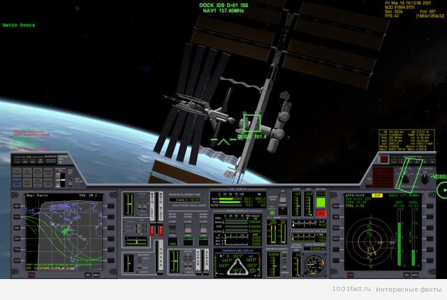 космический симулятор орбитер