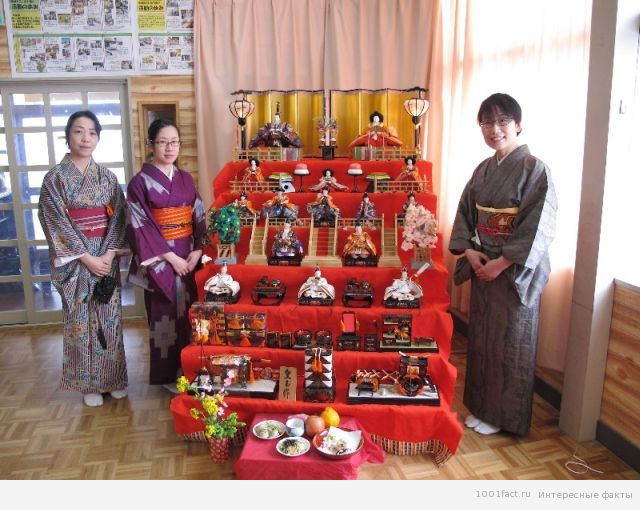 о куклах Японии