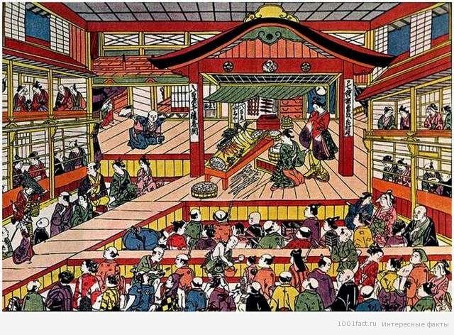 история кабуки