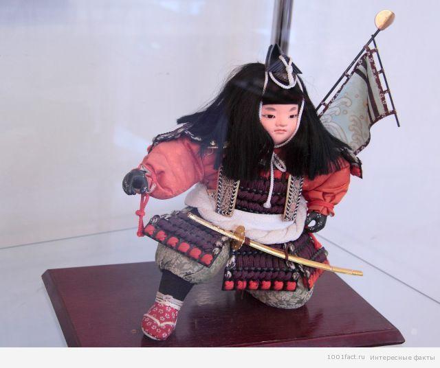 куклы-самураи