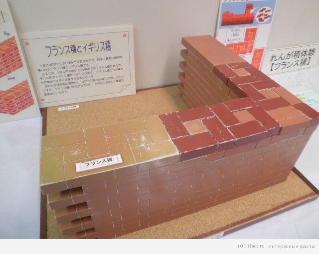 Музей кирпичей в Японии