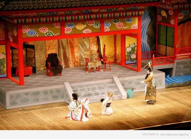 представление в театре кабуки