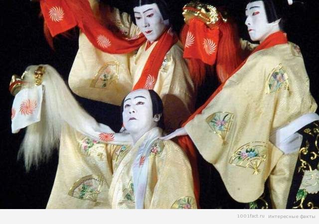 пьеса театра кабуки