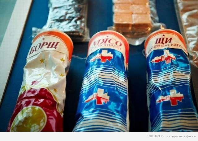 космос_тюбики с едой