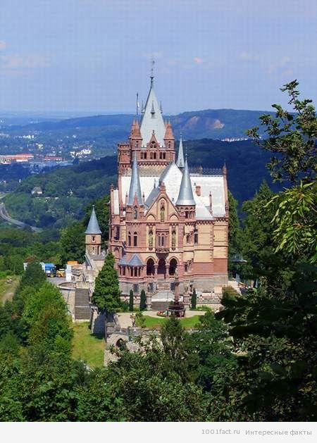 Германия_замок Драхенбург
