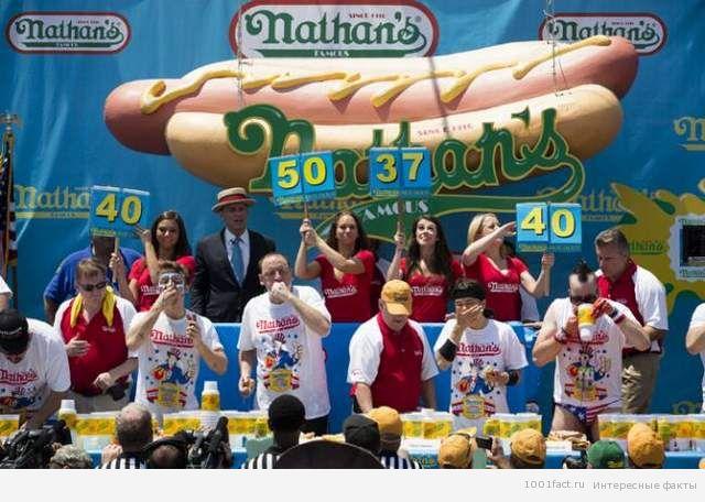 День хот-дога в Америке
