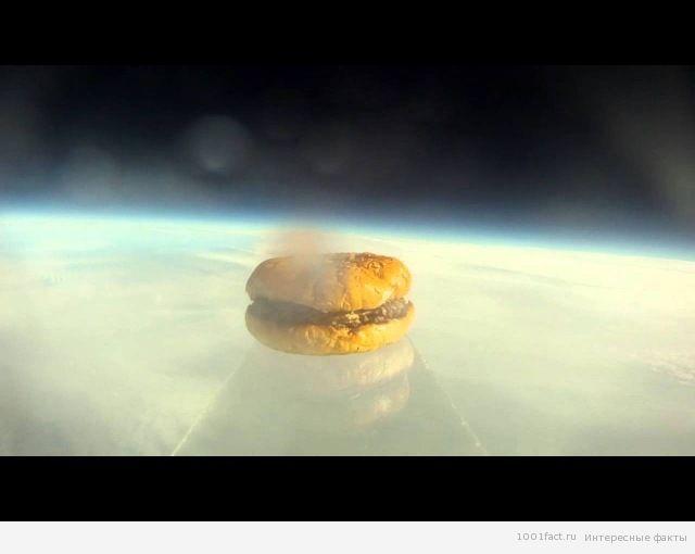 гамбургер в космосе