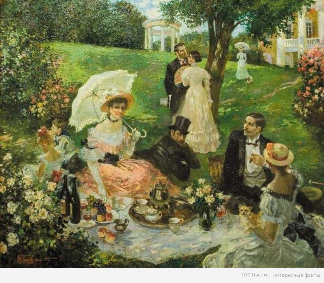 пикник в начале 20 века